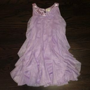 Childrens place violet dress